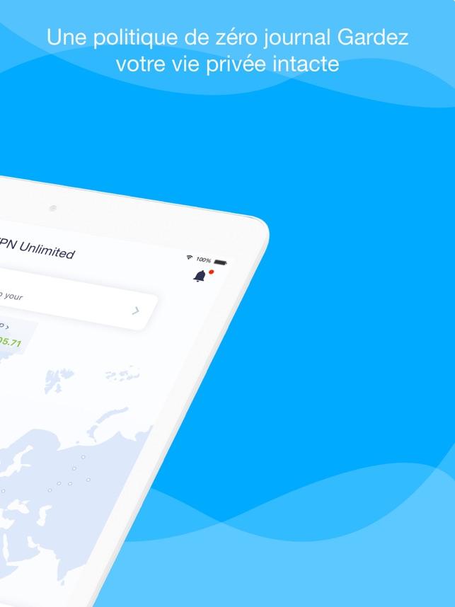 VPN Unlimited for iPhone, iPad Capture d'écran