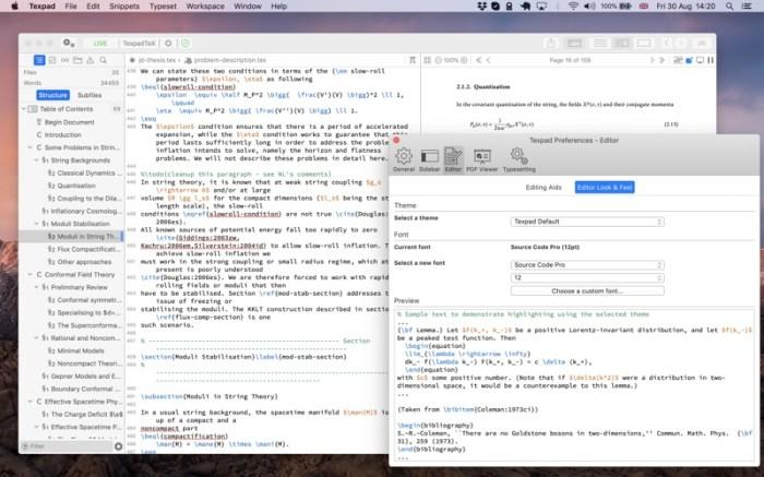 Texpad : LaTeX editor Screenshot 03 f5mxejn