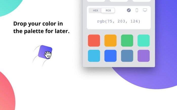 Drop - Color Picker Screenshot 06 133brun