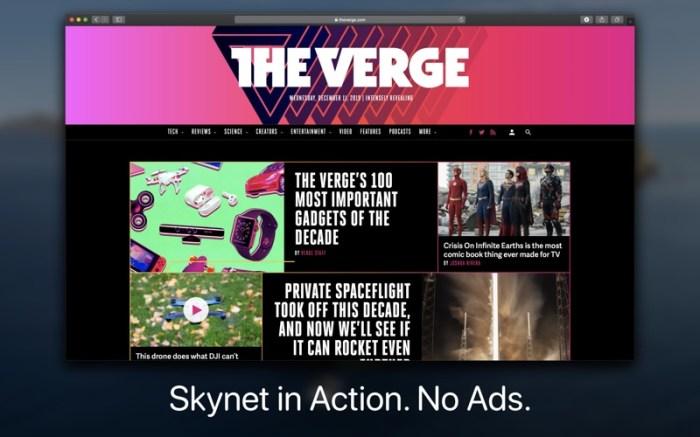 Skynet : Ad Blocker for Safari Screenshot 05 rrwwjon
