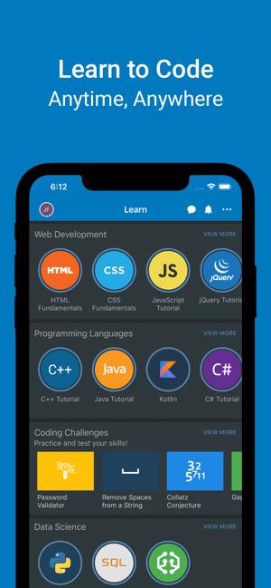 SoloLearn: Learn to Code Screenshot