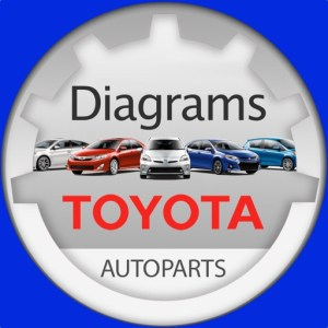 Toyota Parts Diagram & VIN by Andrey Ivanchenko