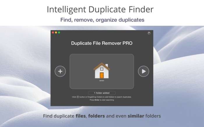 Duplicate File Remover PRO Screenshot 1