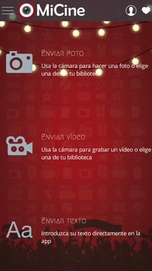 MiCineplus Screenshot