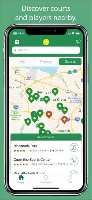 Swing™ Tennis Tracker Capture d'écran