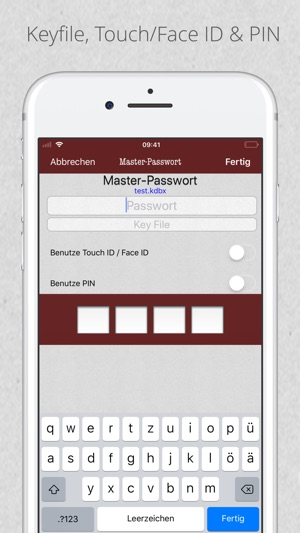 KyPass 4 - Password Manager Screenshot