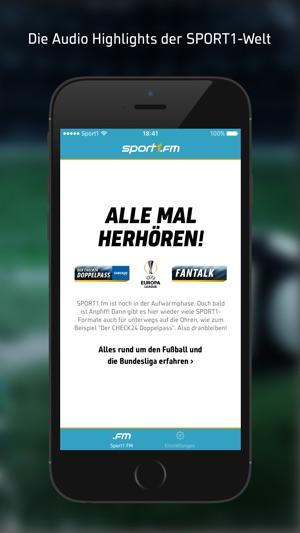 SPORT1.fm – Fußball-Radio live Screenshot