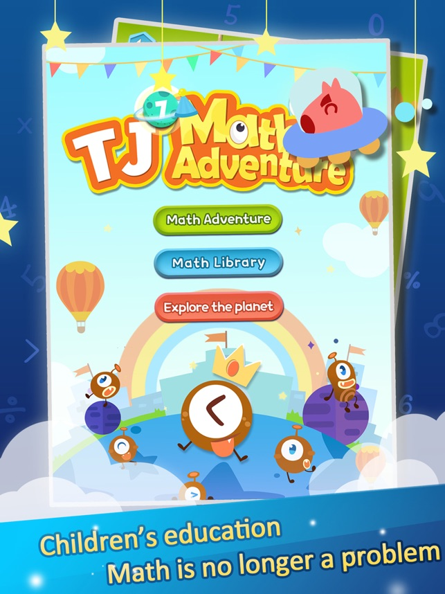 ‎TJ's Math Adventure Screenshot