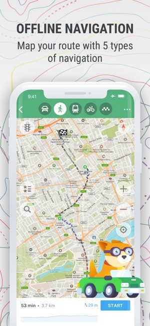 MAPS.ME – Offline Map & Nav Screenshot