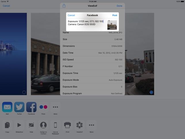 ViewExif Screenshot