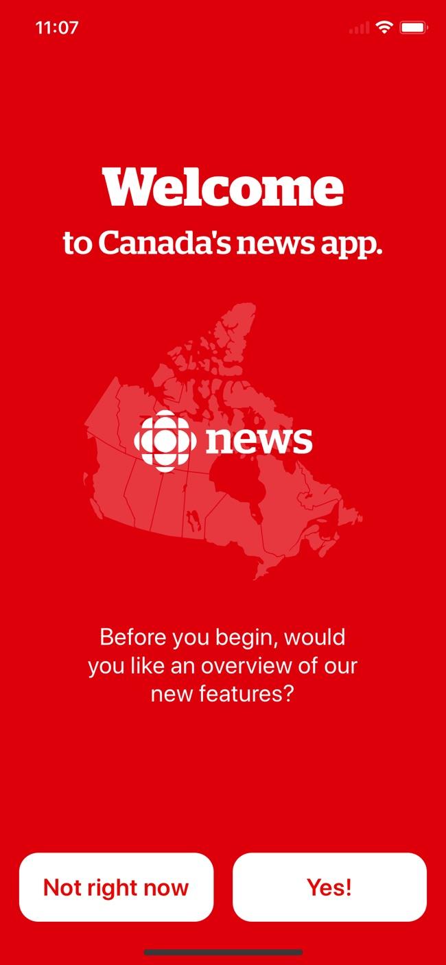 CBC News Screenshot