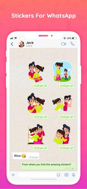 Stickers for whatsapp Chats Screenshot