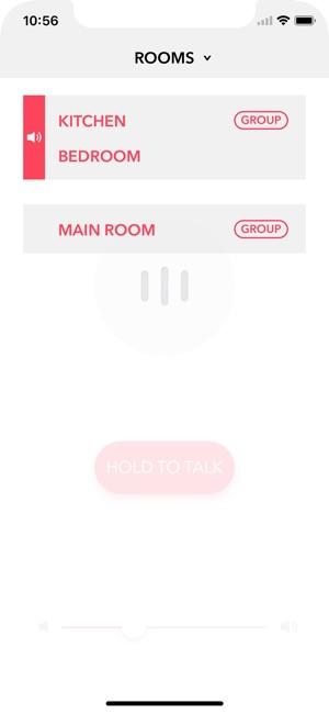 Voice Intercom for Sonos Screenshot