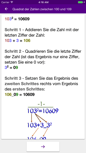 Mathematische Tricks (100+) PRO Screenshot
