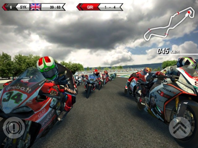 SBK15 - Official Mobile Game Screenshot
