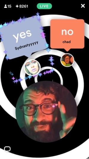 Hype - Interactive Live Video Screenshot