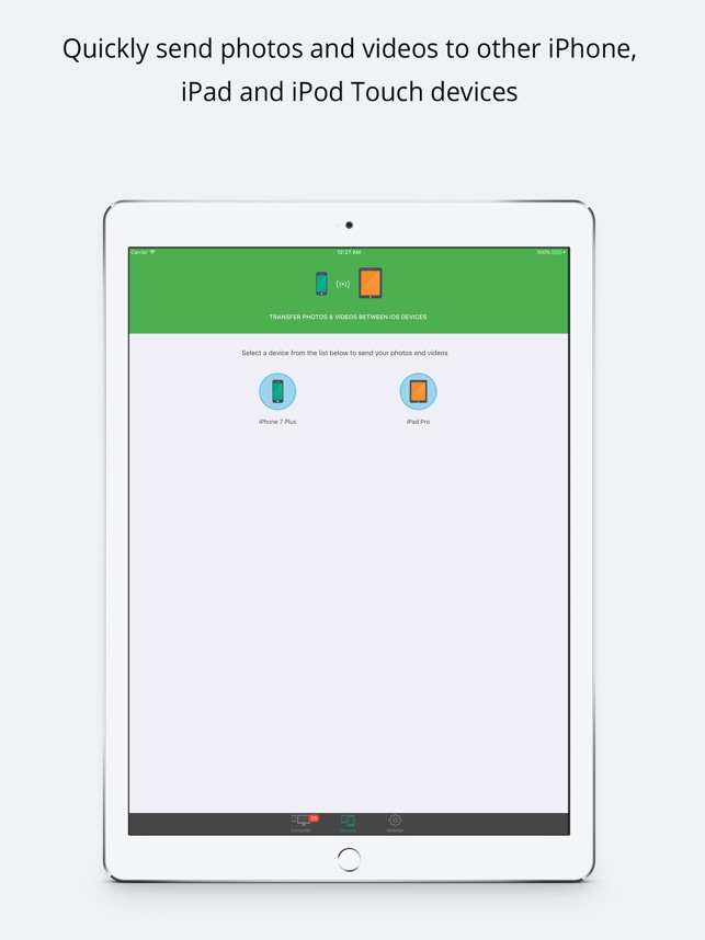 Simple Transfer Pro - Photo Screenshot