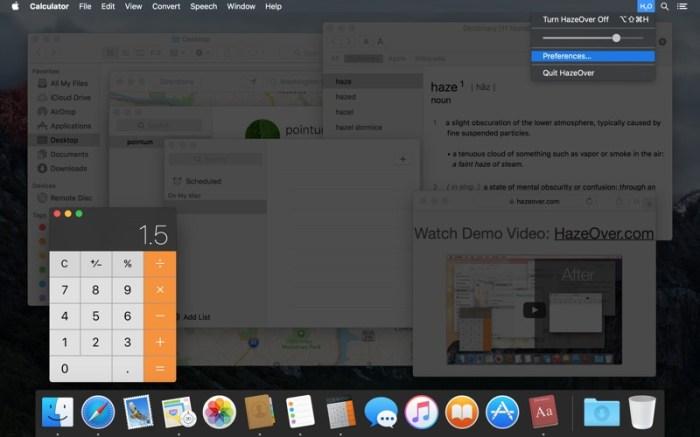 HazeOver • Distraction Dimmer™ Screenshot 10 9wco9jn
