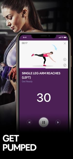 Butt Workout by 7M   Booty App Screenshot