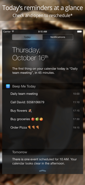 Reminders by Beep Me Screenshot