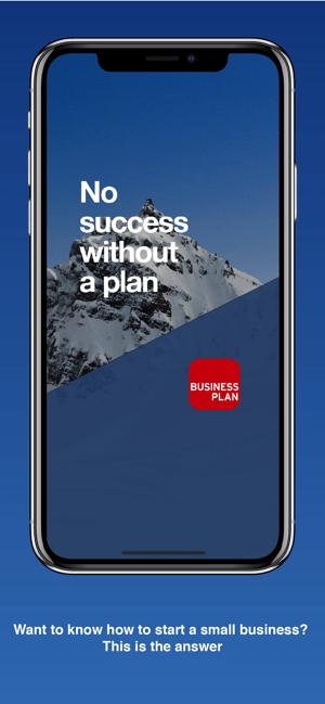 Business Plan for Startups Screenshot
