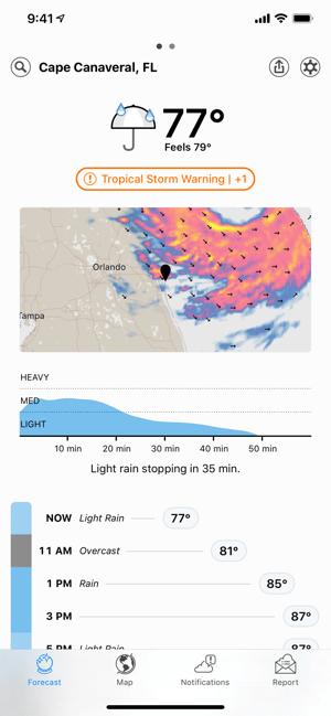 Dark Sky Weather Screenshot