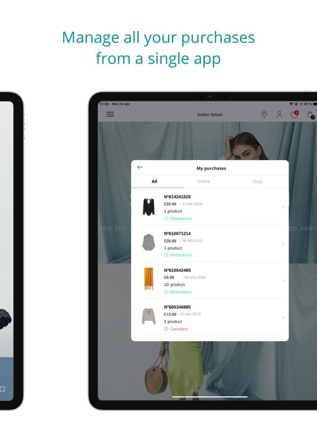 Stradivarius - Fashion Store Screenshot