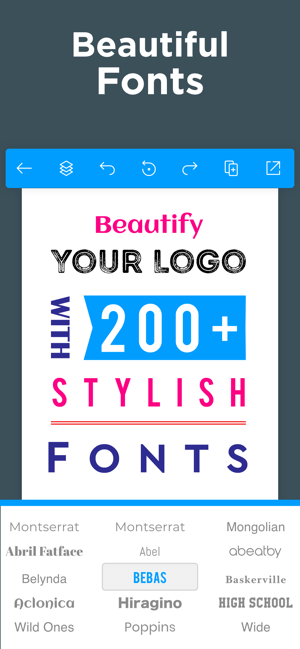 Logo Maker - Design Creator Screenshot