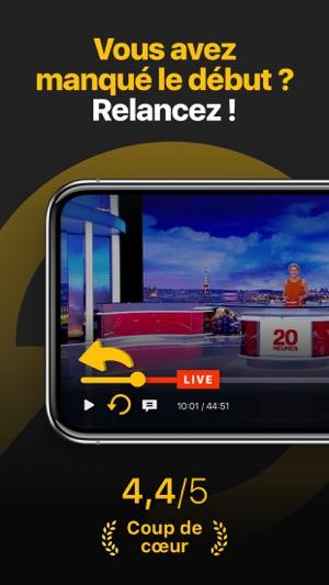 Molotov - TV en direct, replay Capture d'écran
