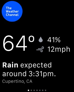 ‎Weather - The Weather Channel Screenshot