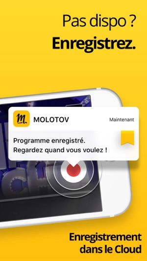 Molotov - TV en direct, replay Capture d'écran