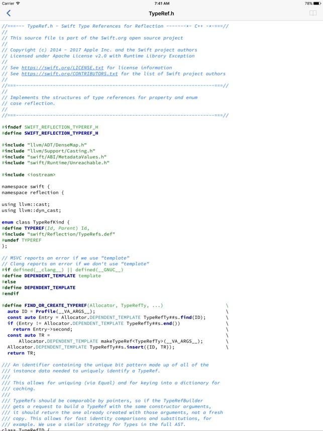 TextCode Screenshot