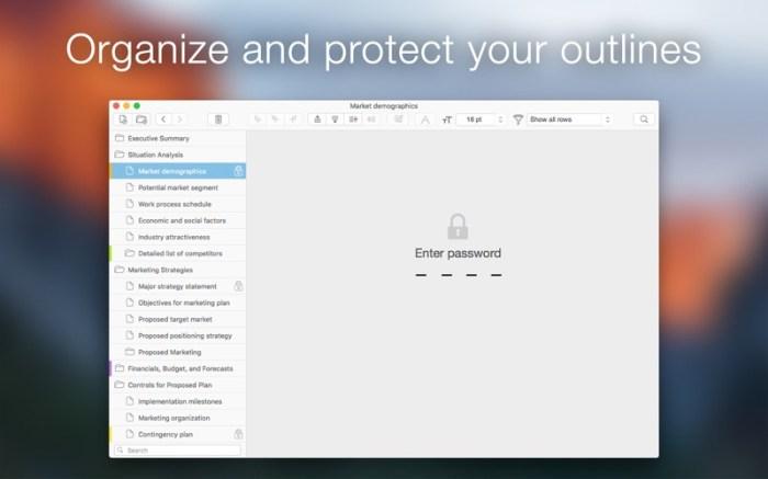 Cloud Outliner Pro Screenshot 3