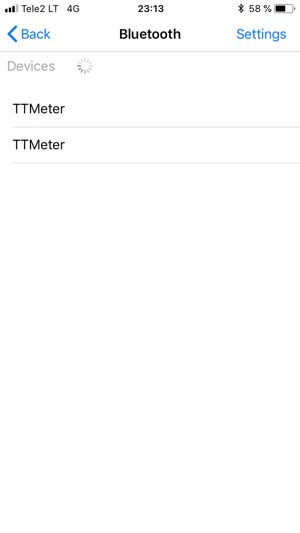 Timberin Temperature Monitor Screenshot
