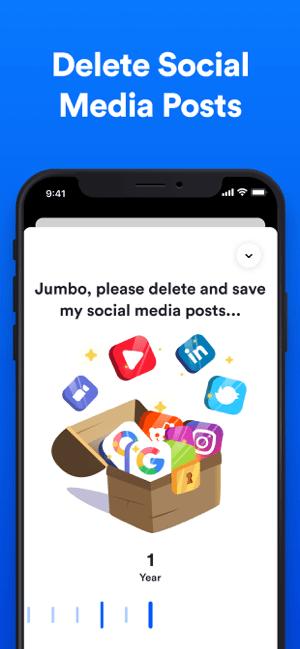 Jumbo: Security + Privacy Screenshot