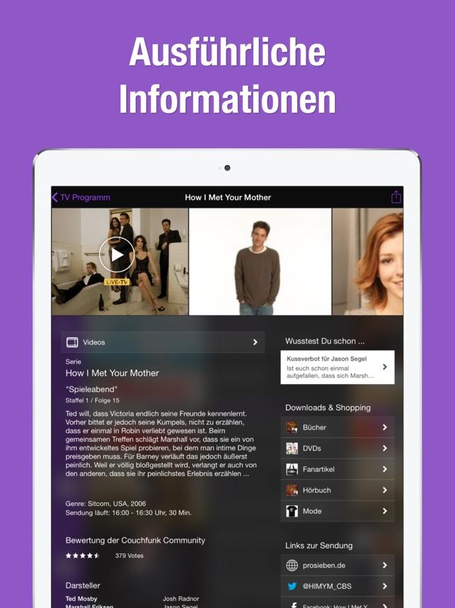 TV.de TV-Programm Live Screenshot