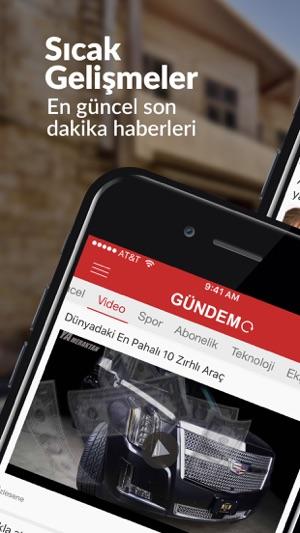 GÜNDEM: Son Dakika Haber Screenshot