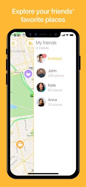 Mapstr, el Mapa de Tu Mundo Screenshot