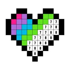 Livro de Colorir com Números