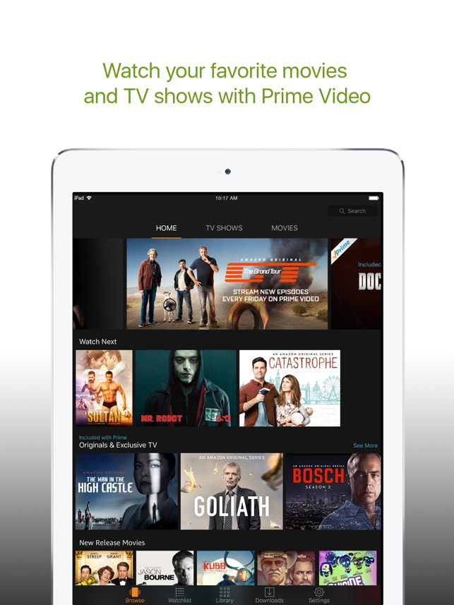 HOW TO CHROMECAST AMAZON PRIME FROM IPHONE