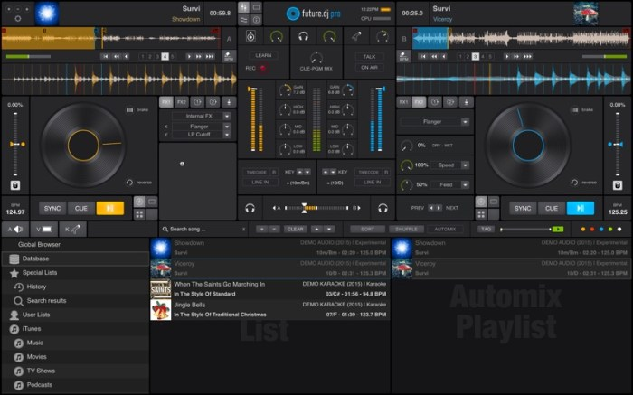 future.dj pro - mix everything Screenshot 01 57xz2an