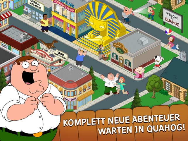 Family Guy The Quest for Stuff Screenshot