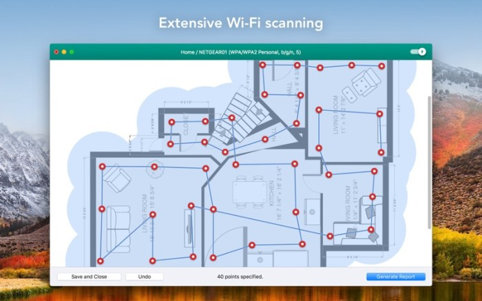 Wifiner - WiFi Analyzer Screenshot 02 58vluhn