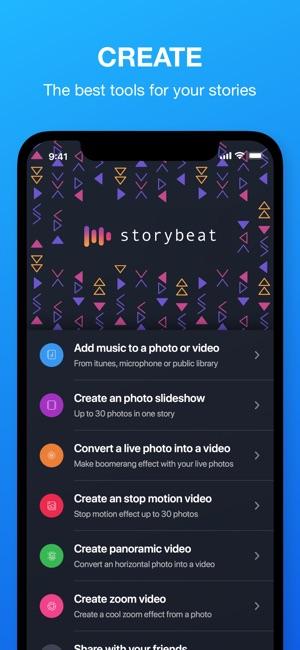 Storybeat Screenshot