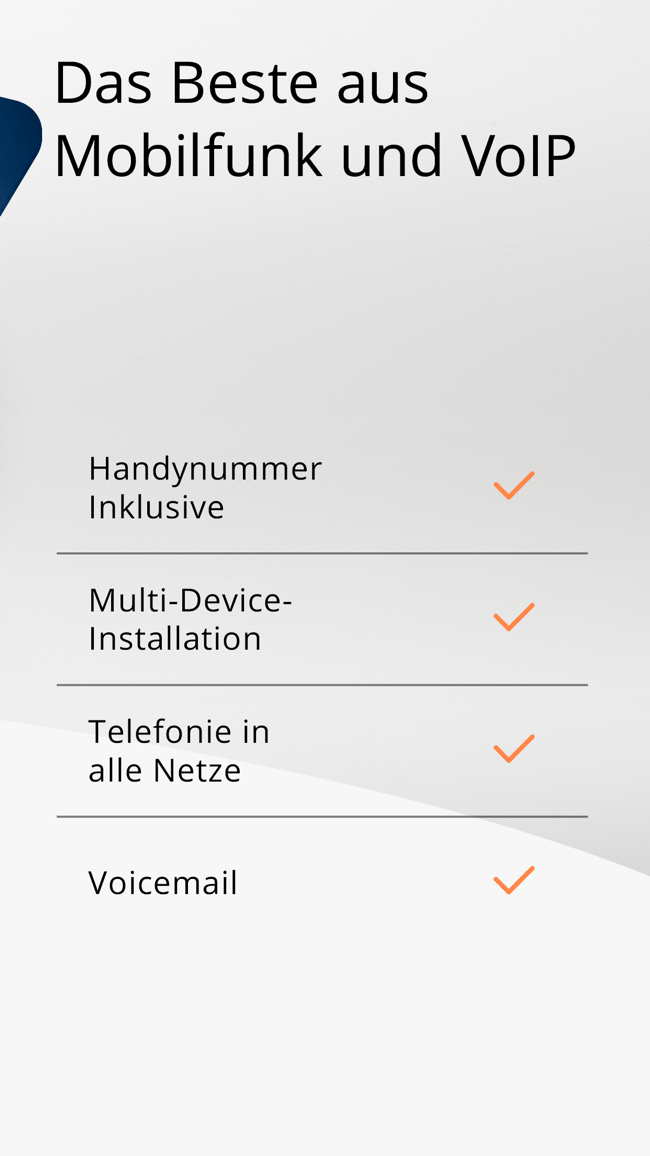 satellite – Handy in der App Screenshot
