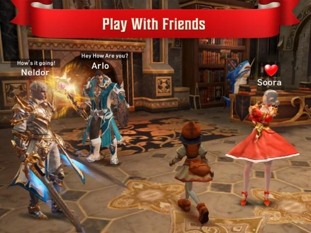 Lineage 2: Revolution Screenshot