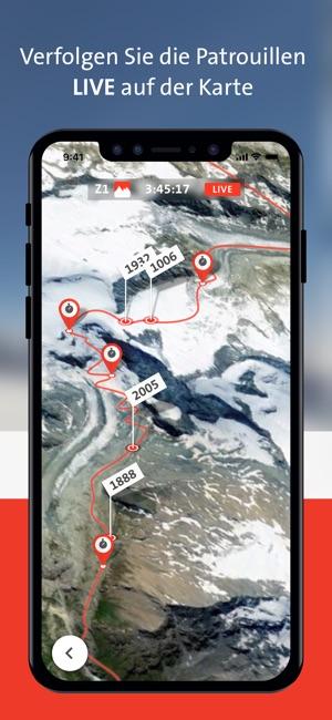 Patrouille des Glaciers – PDG Screenshot