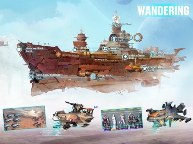 Ark of War:Galaxy Pirate Fleet Screenshot