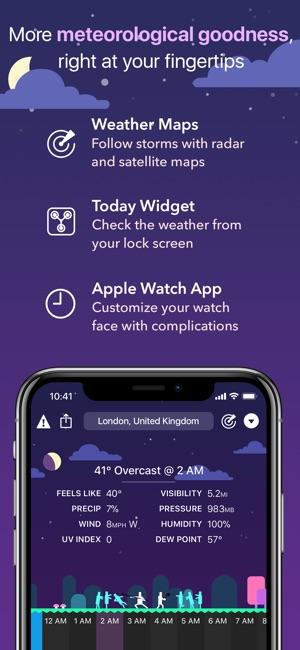 CARROT Weather Screenshot