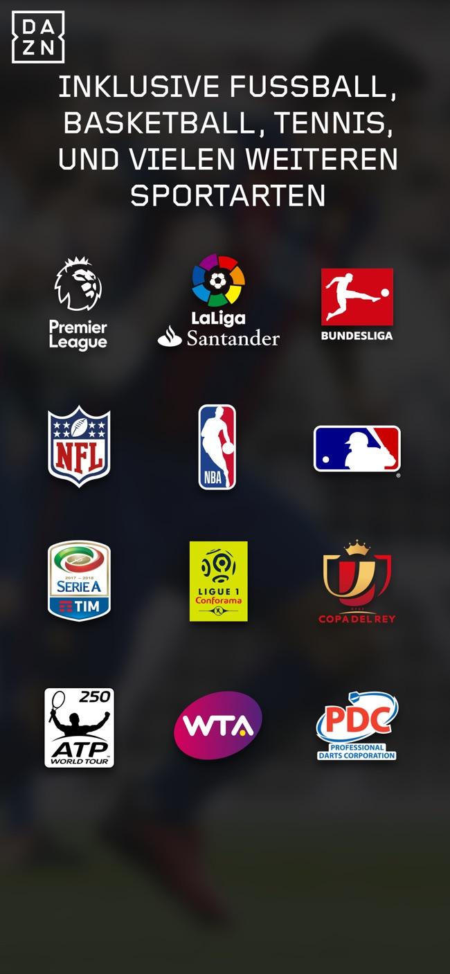 DAZN Screenshot